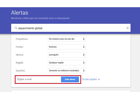 Busca Avançada Google