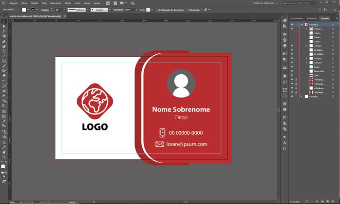 Dados variáveis no Adobe Illustrator CC